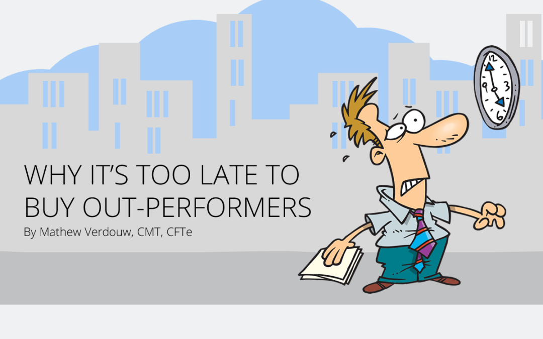 Why it's too late to buy out-performers